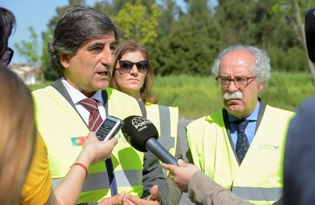 Carlos Martins e Ricardo Magalhães, Vice-Presidente da CCDR-N