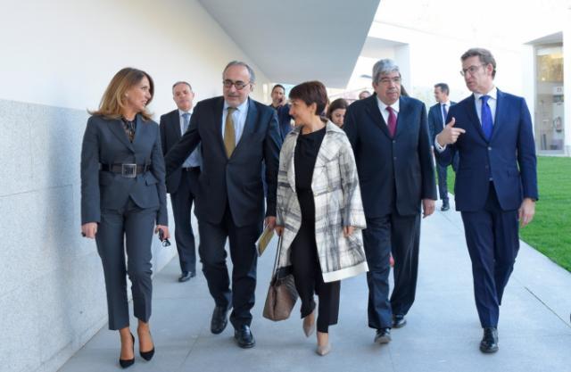 Ana Pinho, Freire de Sousa, M. do Céu Albuquerque, Ferro Rodrigues, Nuñes Feijóo