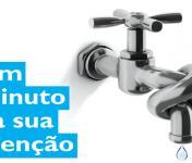 """CCDR-N associa-se à campanha """"Um minuto por dia, vamos fechar a torneira à seca"""""""