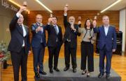 Brinde ao aniversário sobre a classificação do ADV Património Mundial