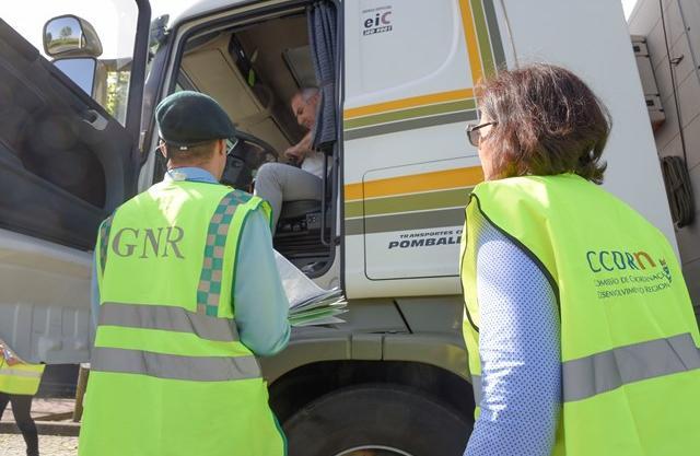 Ação de verificação de camião