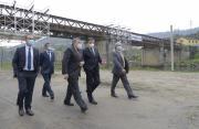 Visita às obras da Ponte Centenária de Pedorido